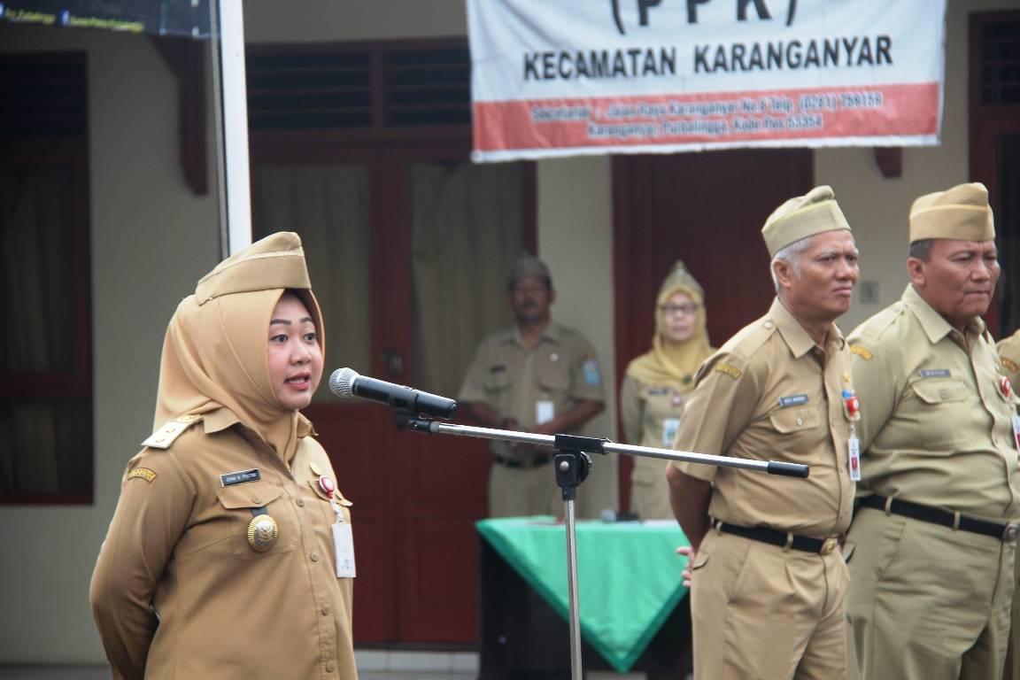 Plt Bupati Tegaskan Pentingnya Penguatan ASN Kecamatan
