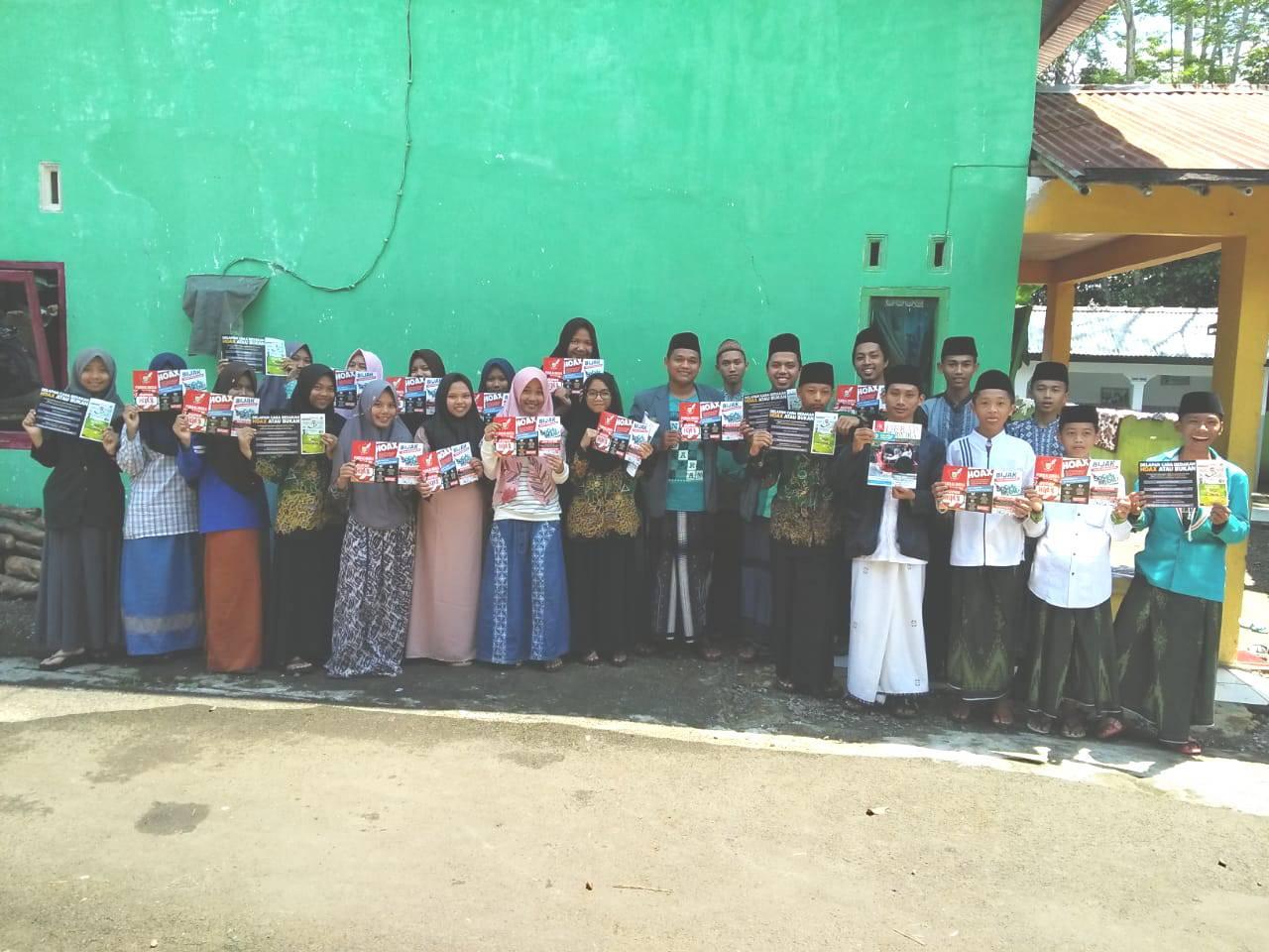 IPNU-IPPNU Desa Karanganyar Kampanyekan Anti Hoax